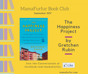 Mamafurfur Book Club September 2017 - Happiness Project by Gretcen Rubin