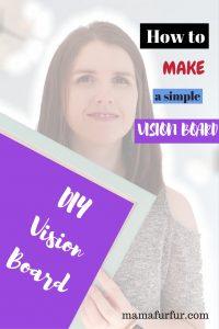 How to make a vision board ¦ DIY Vision Board