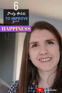 Six Daily Habits to Improve your Happiness ¦ The Slight Edge Mindset