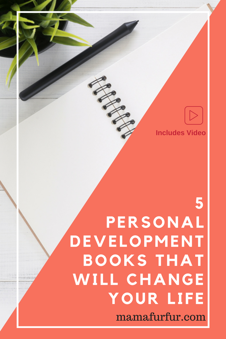 5 Books that WILL Change Your Life - Top Personal Development Books #reading #goals #personaldevelopment