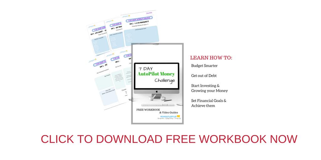 Download free workbook 7 Day AutoPilot Money Challenge
