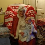 """Mrs Claus"" Christmas visit to Pollok House"