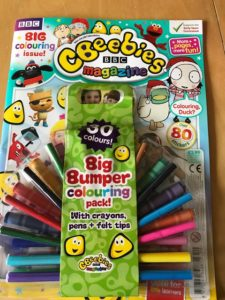 Cbeebies Magazine Review – A treat for any preschooler!