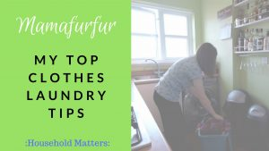 My Top Clothes Laundry Tips