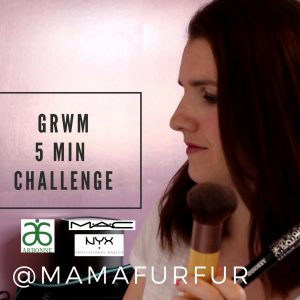 Get Ready with Me 5 min Challenge – Vlog – Mamafurfur Channel