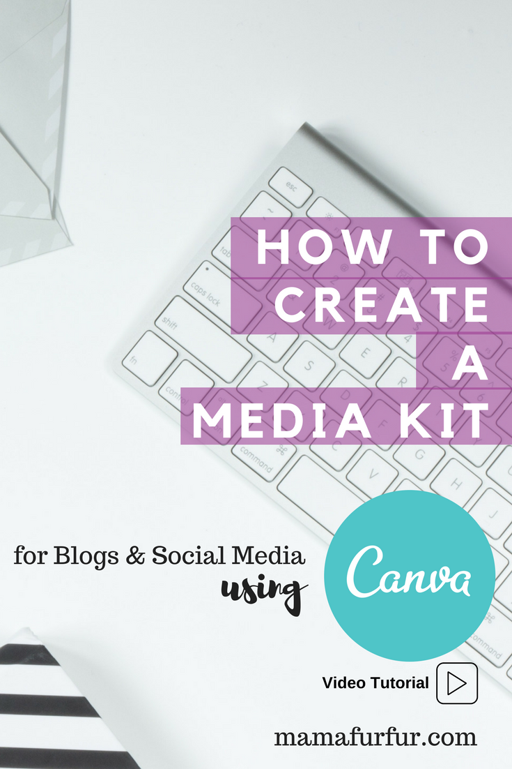 How to make a Media Kit using Canva for Blogs or Website ¦ Create a Media Kit in Canva #blogging #blog #tips #tutorials