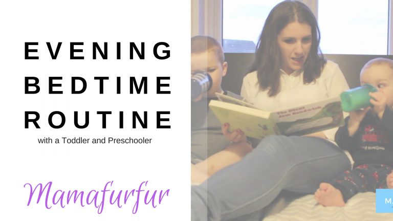 Bedtime Routine for Toddler and Preschooler
