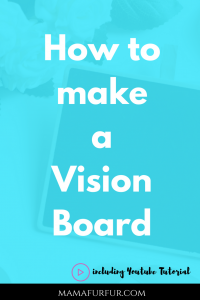 How to make a Vision Board¦ Setting Goals ¦ Simple Vision Board Youtube Tutorial