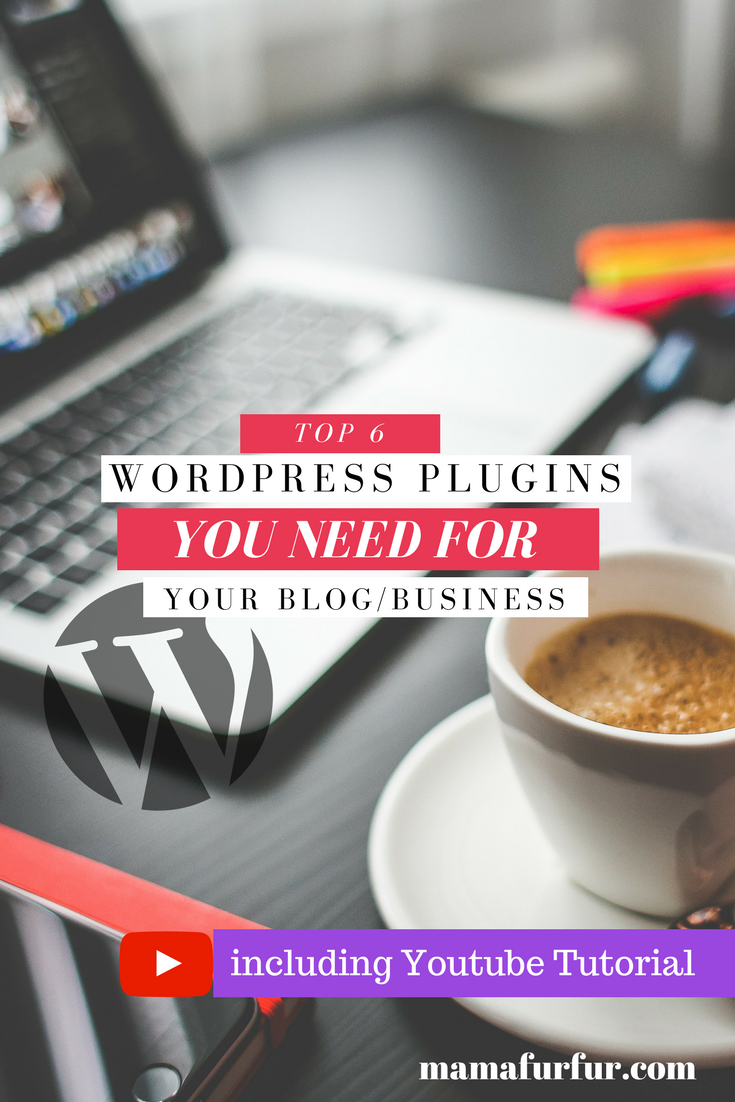 Top 6 WordPress Plugins You NEED for your Blog/Business #wordpress #blogging #blogger #vlogger #businesstips #businesshacks