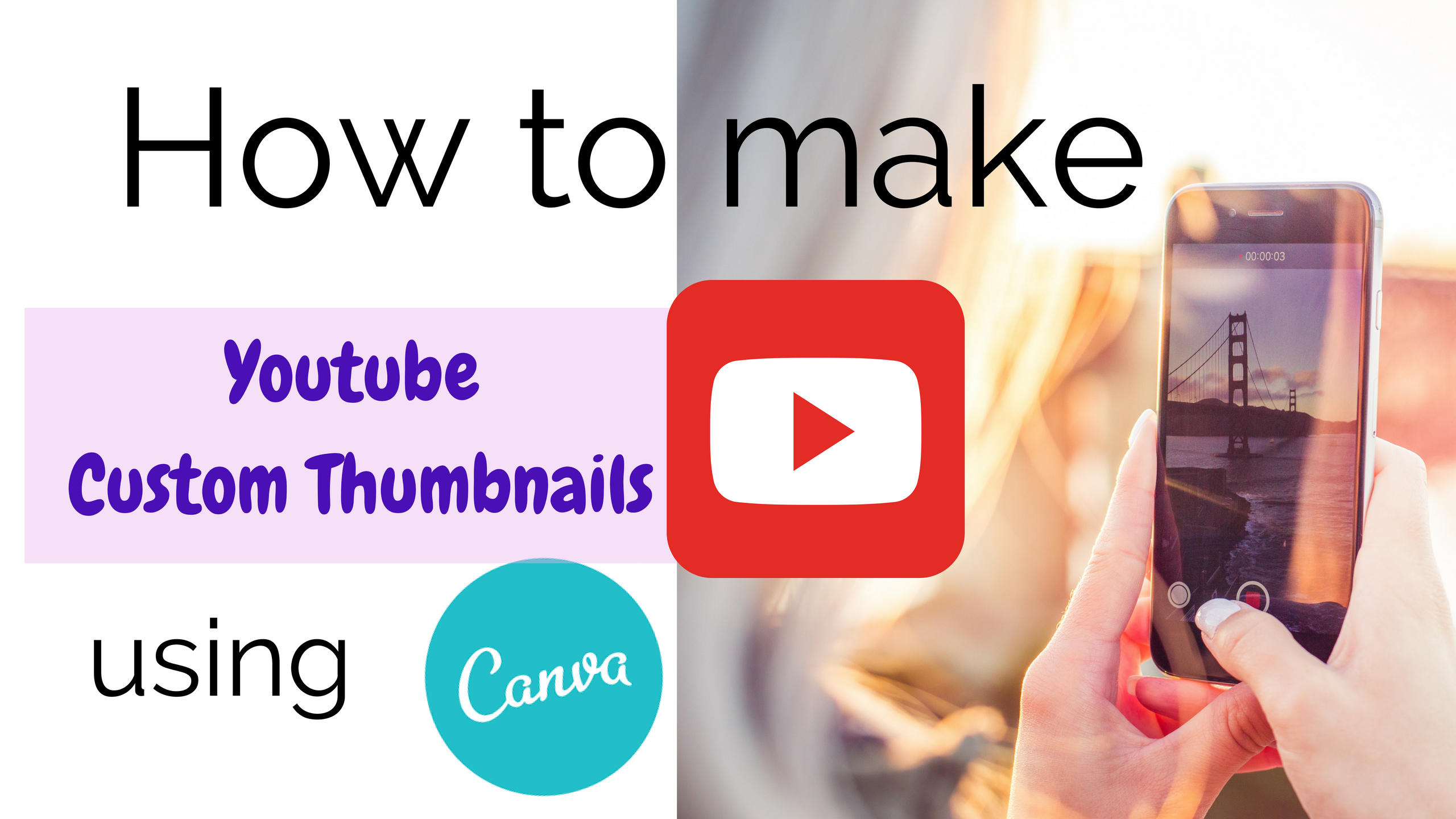 How to Create AMAZING YouTube Thumbnails in Canva