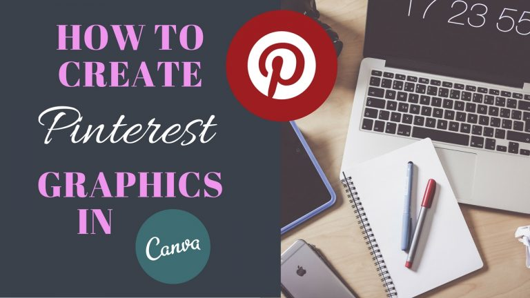 How To Design Pinterest Graphics with Canva for FREE!