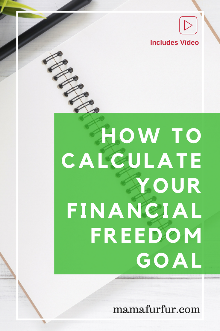 How to Calculate your Financial Freedom Exact Goal ¦ Get Rich Quick using Compound Interest #financialfreedom #debtfree #liverich