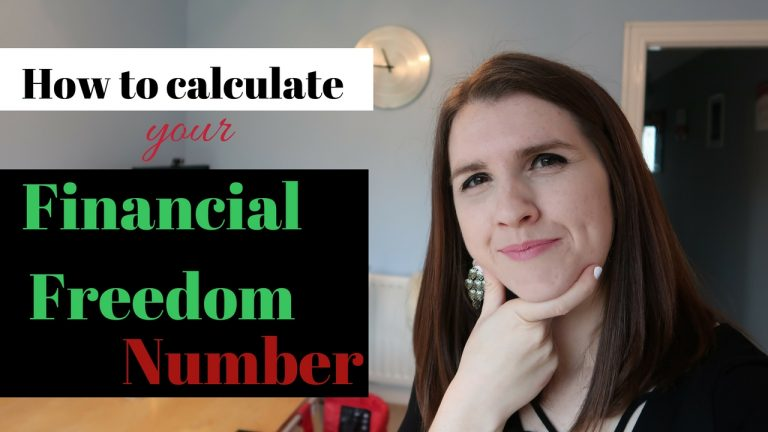 How to Calculate Your FINANCIAL FREEDOM Exact Number