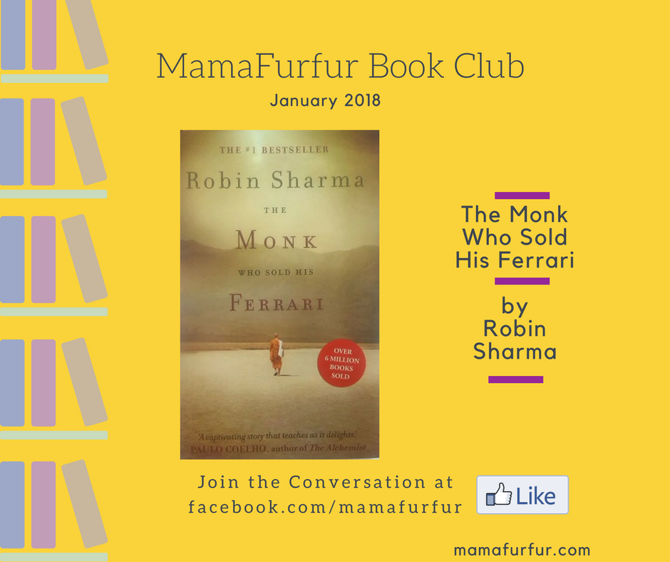 The Monk Who Sold his Ferrari- Mamafurfur Book Club January 2018