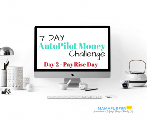 Day 7 Review regularly 7 day money challenge Pay Rise Blog cover