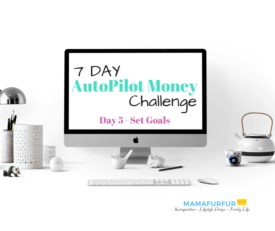 Day 5 - Set financial GOals 7 day money challenge #financialfreedom #debtfree