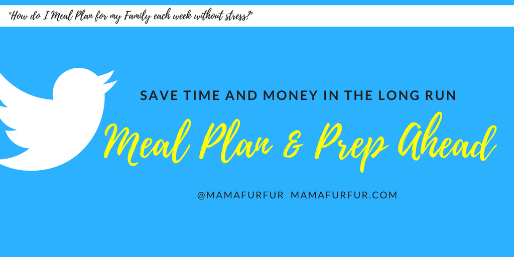 How to meal plan for the week ahead without any stress #mealplanning #debtfree #budgeting