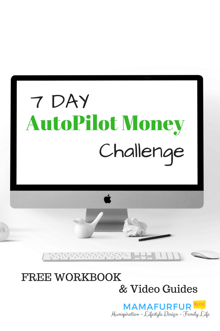 7 day Autopilot Money Challenge How to Turn your Finances around in 1 week #budgeting #debtfree #financialfreedom