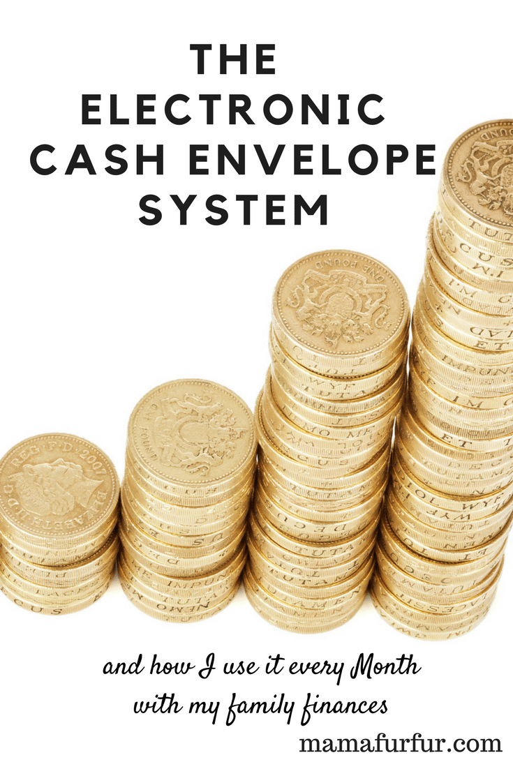 What is the Electronic Cash Envelope and how to use it with your family #budgeting #daveramsey #moneymanagement #household