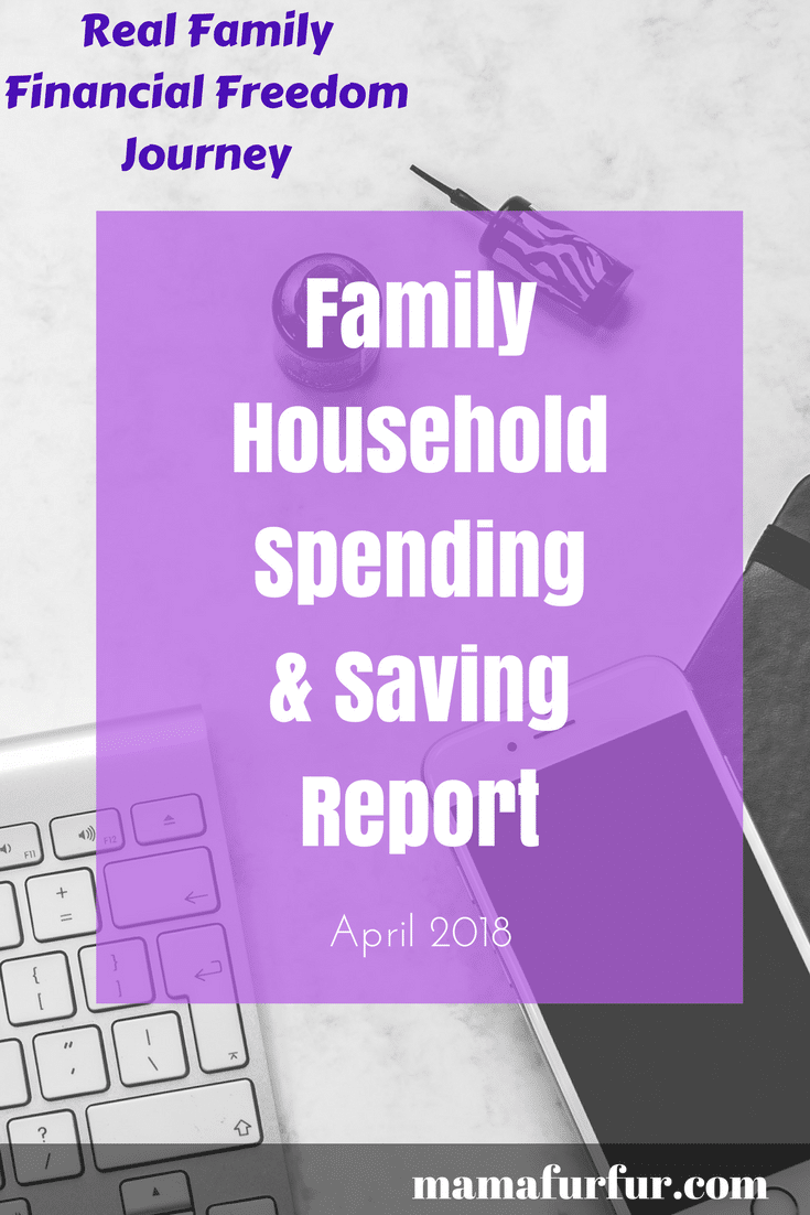 April Budget report Real family journey to financial freedom #budgeting #financialfreedom #family #reallife