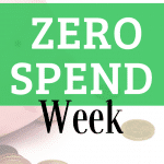 How to do a ZERO SPEND MONEY FREEZE Week successfully