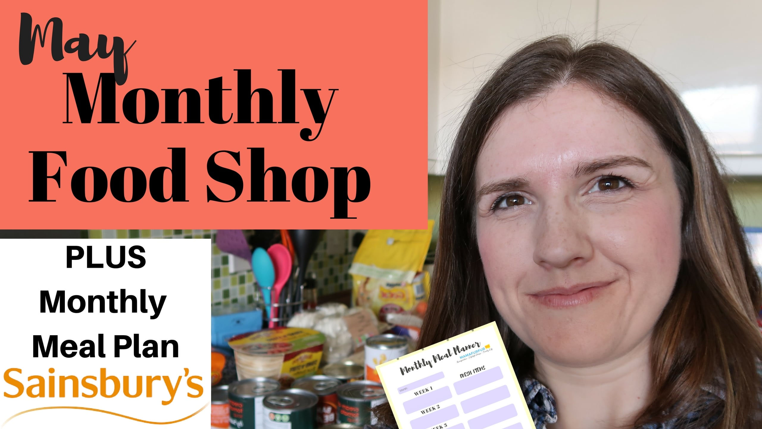 May Meal Plan & Shopping Haul for family of 4 | Grocery Shopping on a Budget