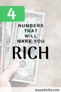 4 numbers that will make you rich - How to become financially free in 4 steps #budgeting #financialfreedom #smartersavings
