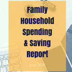 June 2018 Family Household Spending & Saving Update ¦ Real Family Budget Report