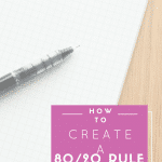 How to create a 80/20 Rule Budget