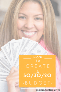 How to create a 50/30/20 Budget