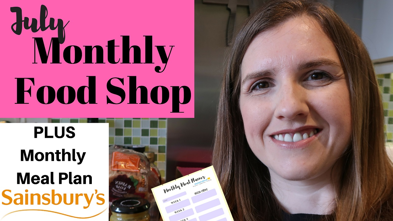 July Meal Plan & Shopping Haul for family of 4 | Grocery Shopping on a Budget