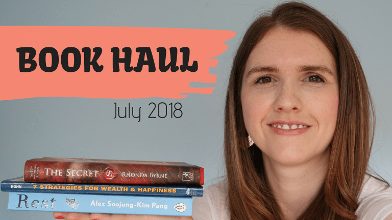 July 2018 Book Haul UK – My favourite books from the past month
