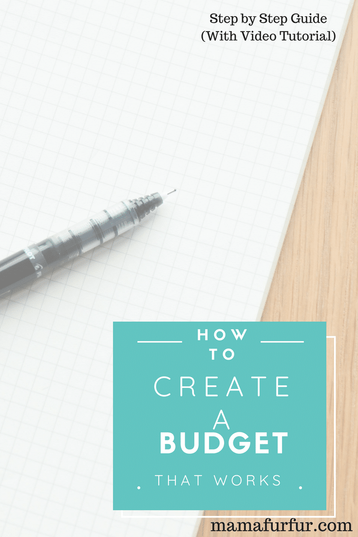 How to create a budget that works - step by step guide #budgeting #savingmoney #familybudget #debtfree