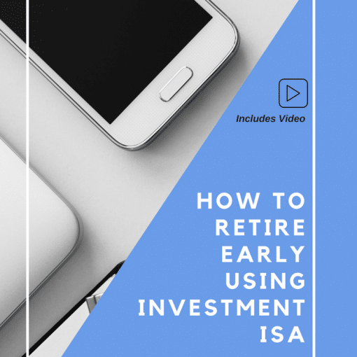 How to Retire Early using Investment ISA UK - Investing for Beginners UK #debtfree #passiveincomes #investing