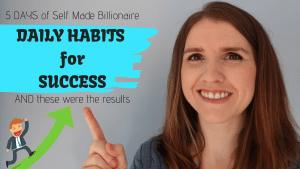 Self Made Billionaire Success Daily Habits