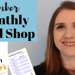 September Meal Plan & Shopping Haul for family of 4 | Grocery Shopping on a Budget