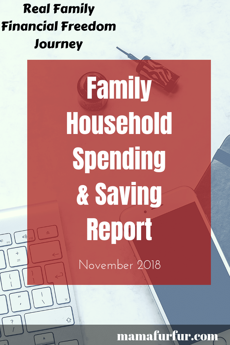 November 2018 Monthly Spending Report Review – Budget with Me
