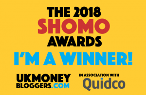 "I WON ""Best UK Money Vlogger 2018″…. now what?"