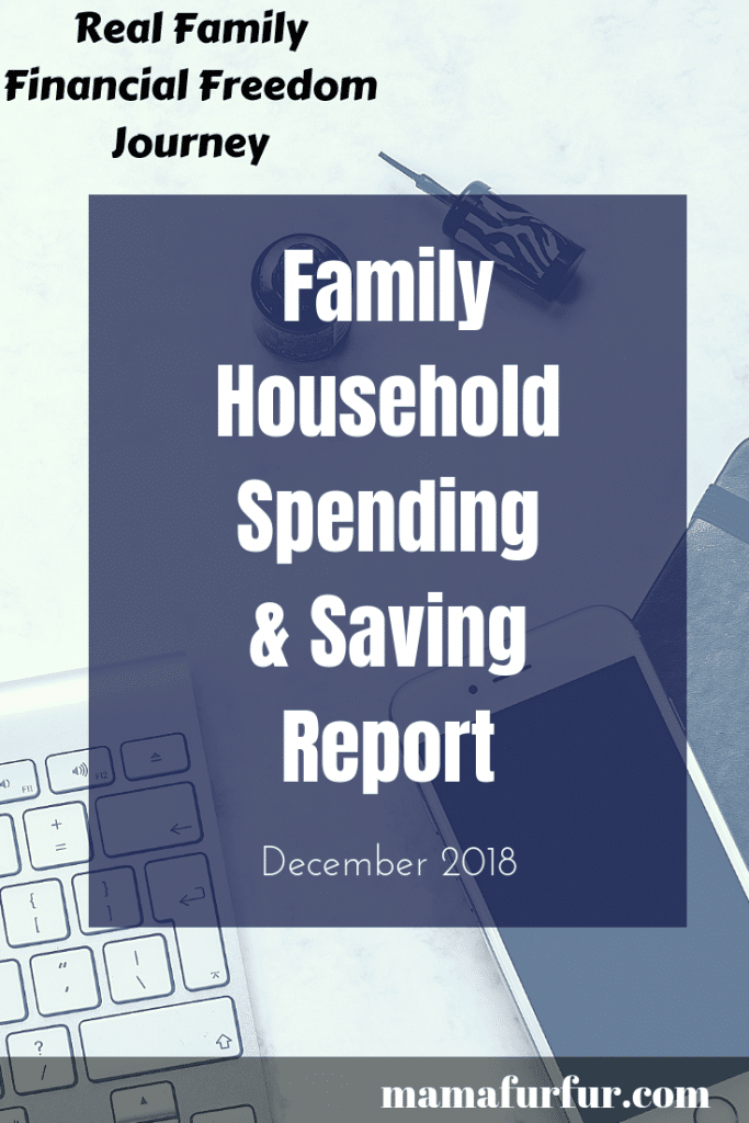 Household family spending report December 2019 #budgeting #familyfinances #debtfreeuk