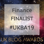 #UKBA19 Finance Blog of the Year Finalist
