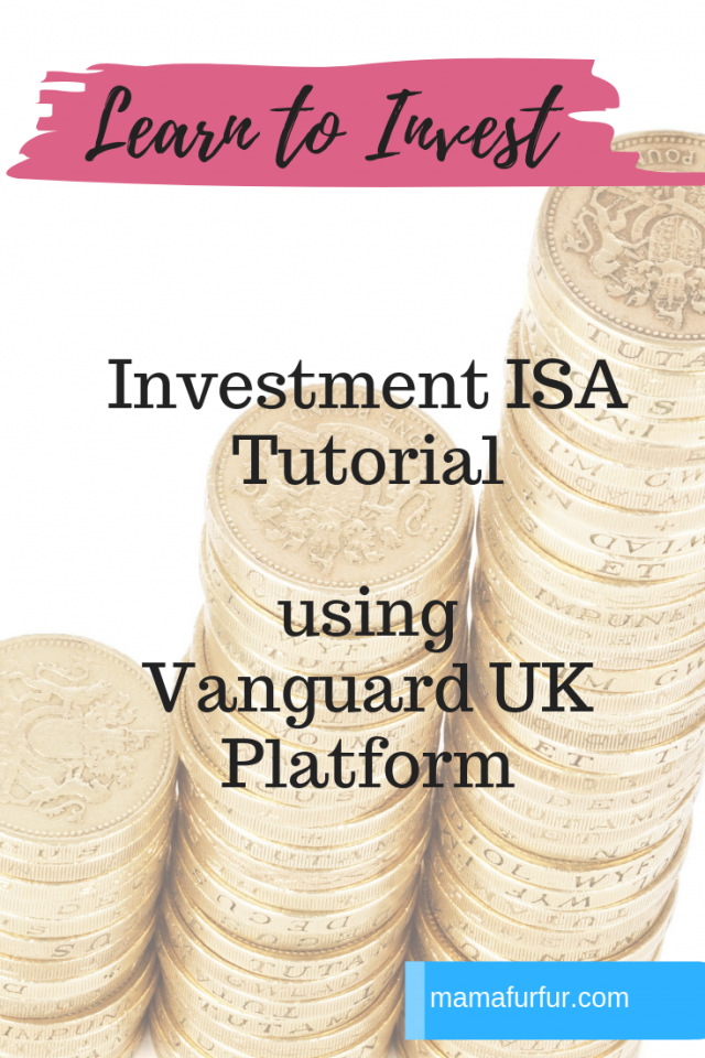 Investing for Beginners: Investment ISA Tutorial using Vanguard UK