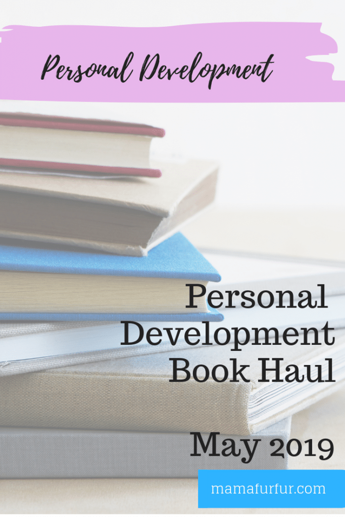 Personal Development Book Haul May 2019 #booktube #reading #personaldevelopment