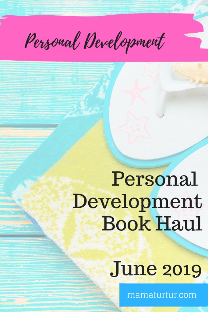 Personal Development Book Haul June 2019 #reading #books #mindset