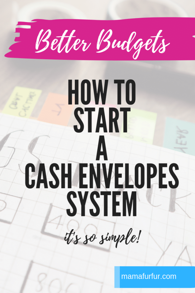 How to start a Cash Envelopes System - Budgeting Tips and Tricks #cashenvelopes #financies #budgeting