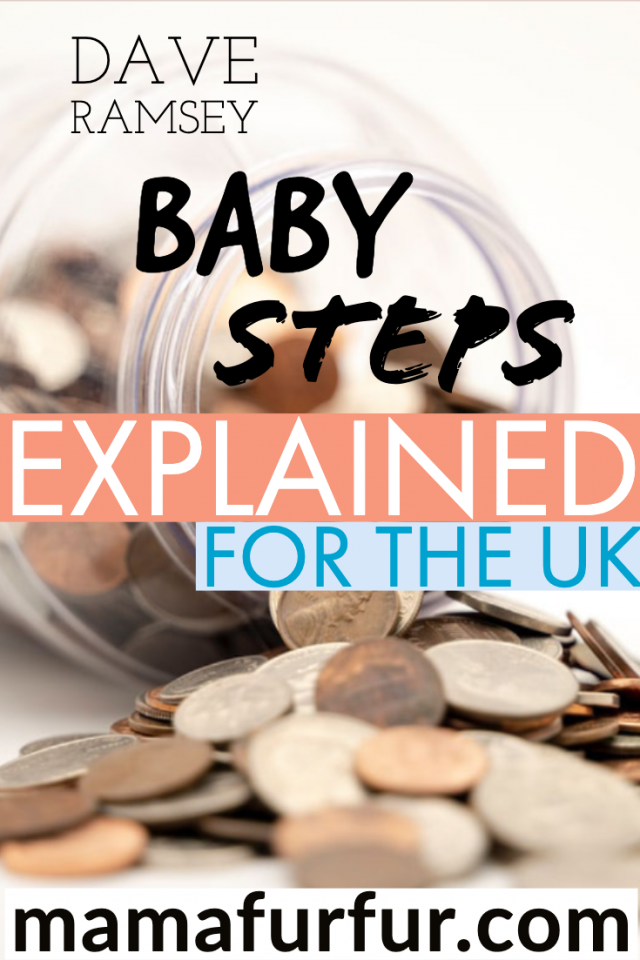 Dave Ramsey Baby Steps UK explained money debt free financial plan money jar savings