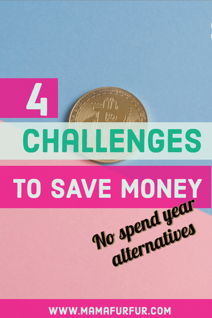 No Spend Year Money Saving Alternatives - 4 Money Challenges that work for 2020