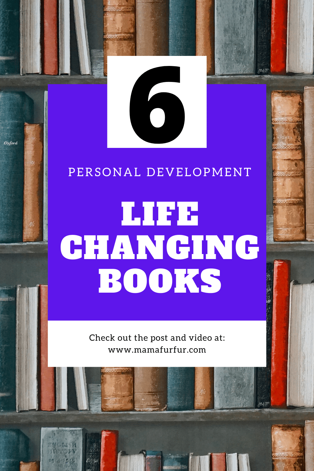 6 Life Changing Books to read in 2020 - Personal Development, Mindset & Money