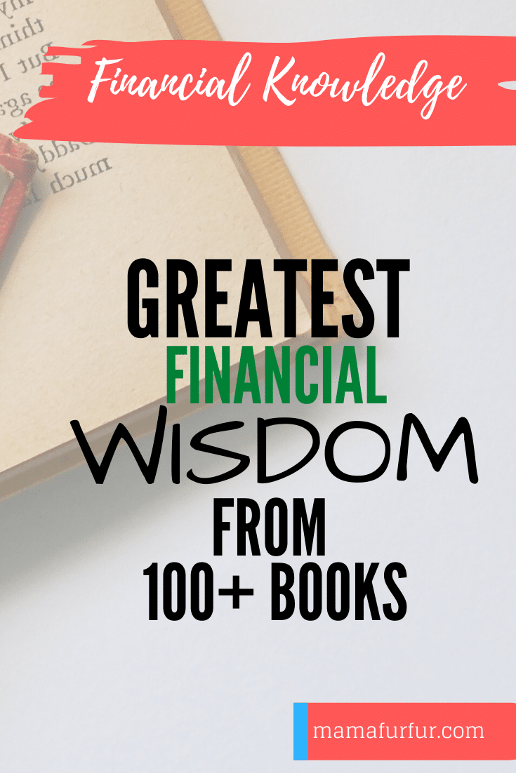 Financial Wisdom from 100+ Money & finance books - Books to love in Money & finance