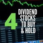 4 DIVIDEND INVESTING STOCKS to BUY AND HOLD 2020 – Stock Market for Beginners