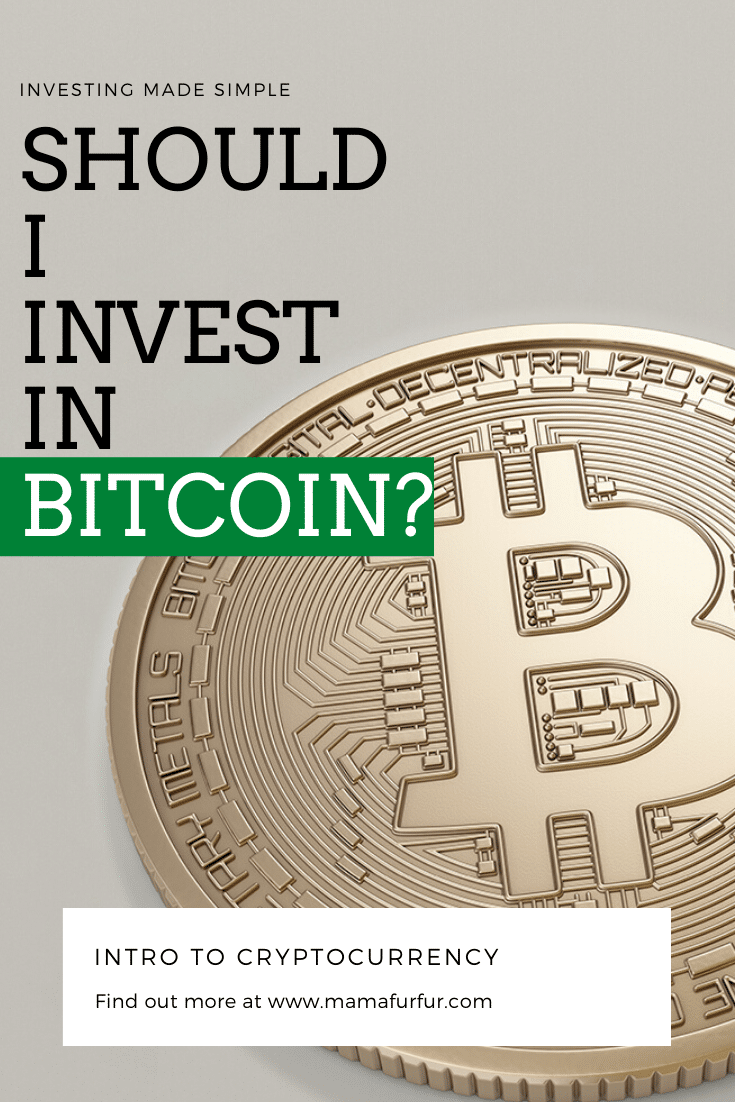 Cryptocurrency/Bitcoin - Should I be investing in them right now?